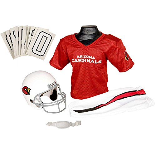 [Franklin Sports NFL Arizona Cardinals Youth Licensed Deluxe Uniform Set, Large] (Costumes F)
