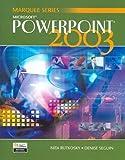Microsoft PowerPoint 2003 9780763820800