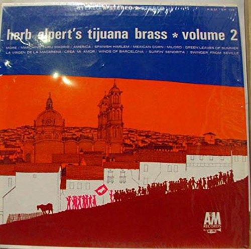 (HERB ALPERT'S TIJUANA BRASS volume 2 LP Mint- SP-103 Stereo 1963 USA Latin Jazz)