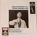 Sibelius: Symphony No. 2, Op. 43 / Dvorak: Symphony No. 8, Op. 88