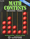 Math Contests - High School, Steven R. Conrad and Daniel Flegler, 0940805049
