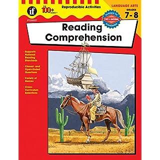 Carson Dellosa | The 100 Series: Reading Comprehension Workbook | Language Arts, Grades 7-8, 128pgs