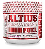 ALTIUS Pre-Workout Supplement - Naturally Sweetened -...