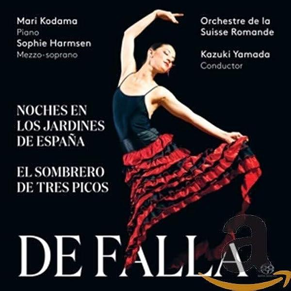 Noches en los jardines de España - El sombrero de tres picos : Manuel de Falla, Maria Kodama: Amazon.es: Música