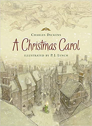 a christmas carol holiday classics illustrated by pj lynch charles dickens pj lynch 9780763631208 amazoncom books