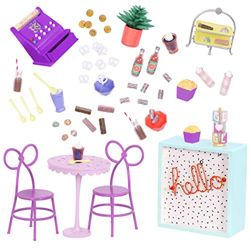 (Glitter Girls by Battat - GG Sweet Shop Terrace - Patio Furniture Set for 14