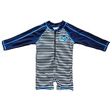 Wishere Baby Beach One-Piece Swimsuit UPF 50+ -Sun Protective Sunsuit