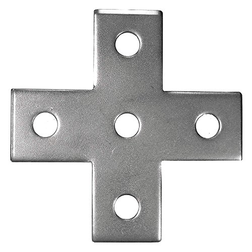 Calbrite - S60000PLCR - 316 Stainless Steel Cross Plate, Polished Brite Finish