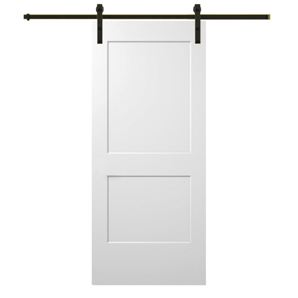 2-Panel Archtop Molded Prehung Interior Single Door National Door Company ZZ365037R Solid Core Right Hand 30 x 80 on 6-9//16 Jamb MDF