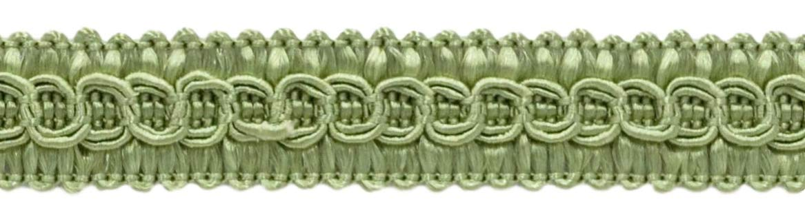 DÉCOPRO 54 Yard Package of 1/2 inch Basic Trim Decorative Gimp Braid, Style# 0050SG Color: SAGE - L83 Green (164 Ft / 50 Meters) by DÉCOPRO
