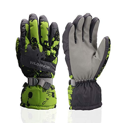 Ski Gloves, Waterproof Winter Breathable Warm Gloves, Cold Snowboard Gloves,Fits Both Men & Women...