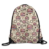 ZQWEOO Hawaii State Flag A Travel Bag Design Casual Beautiful For Kid