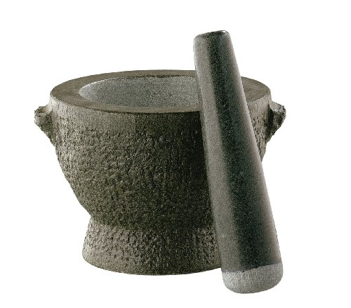 Long Pestle - Frieling/Cilio Goliath Granite 5-Inch Tall Mortar and Pestle
