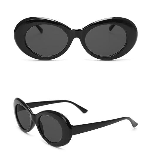 a16e254b542 Doober Vintage Men Women Sunglasses UV400 Outdoor Sports Eyewear Glasses  Fashion Shades (Black Gray