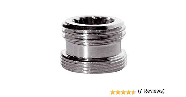 Reducci/ón adaptador de metal para el grifo de agua de la llave de 22 mm macho a 1//2 carpintero macho bsp