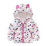 Newborn Girl Autumn Coat,Jchen(TM) Baby Kids Girls Long Sleeve Cartoon Ear Hooded Jacket Coat Outwear for 0-24 Months (Age: 12-18 Months, White)