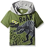 Gerber Graduates Baby Boys' Hooded Short Sleeve T-Shirt