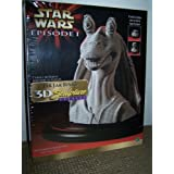 Milton Bradley Hasbro Star Wars Jar Jar Binks 3D Sculpture Puzzle
