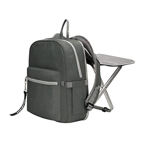 BigTron Ultralight Backpack Stool Combo – Compact Lightweight Backpack and Portable Folding Cooler Chair- Perfect for Camping Fishing Hiking Picnic Outdoor Watching Sports Events BBQ