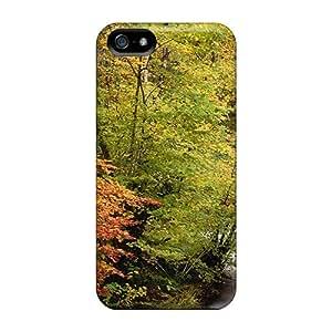 Iphone 5/5s Case Bumper Tpu Skin Cover For A Rapid Mountain Stream Accessories