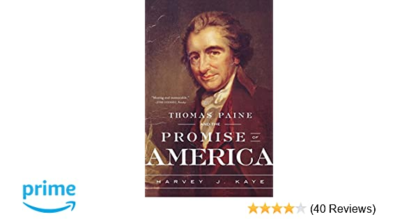 Amazoncom Thomas Paine And The Promise Of Ame 9780809093441