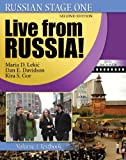 img - for Russian Stage One: Live from Russia, Vol. 1 (Book & CD & DVD) book / textbook / text book