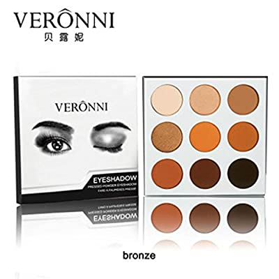 Big Promotion!Pro Eyeshadow Palette,ZYooh Cosmetic Matte Eye Shadow Makeup Palette Shimmer Set 9 Colors