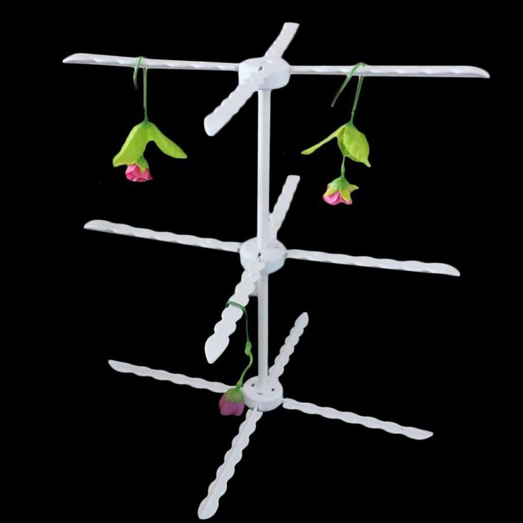 JUSTDOLIFE P/âte De Gomme Support De Fleurs Fondant D/étachable Outil De Fleur pour La D/écoration De G/âteau
