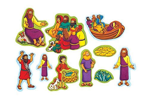 Beginners Bible Miracles of Jesus Felt Figures for Flannel Board Stories Precut -