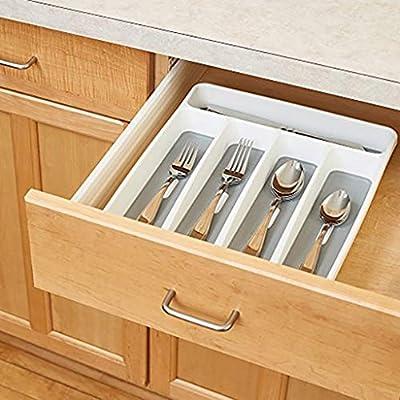 EJHLMNGL Caja de Almacenamiento Caja de Cubiertos Caja de Almacenamiento Cubiertos Caja de Almacenamiento Caja de Almacenamiento portátil de cajón Dividida Herramientas de Cocina: Amazon.es: Hogar