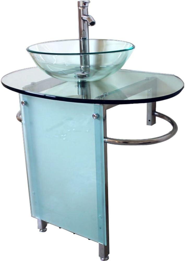 Kokols Vessel Sink Pedestal Bathroom Vanity Set Sinks Amazon Canada