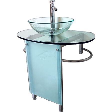 Kokols Vessel Sink Pedestal Bathroom Vanity Set Amazon Co Uk