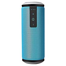Bluetooth Speaker,ELEGIANT Super Bass Outdoor Portable Bluetooth Speaker 4.0 Waterproof Subwoofer Wireless Stereo Music Sound Box with DSP Noise Reduction Mic for iPhone iPad Android Smartphone Blue
