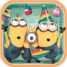 Despicable Me 2 Plates [9 inches - 8 Per Pack]