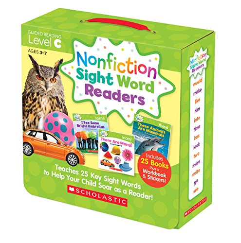 Nonfiction Sight Word Readers Parent Pack Level C: Teaches 25 key Sight Words to Help Your Child Soar as a Reader! (Word Readers Family)