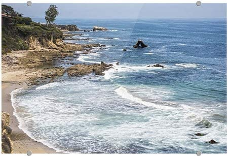 | 27x18 5-Pack CGSignLab Circle CaptureLa Jolla Cove California Premium Acrylic Sign San Diego