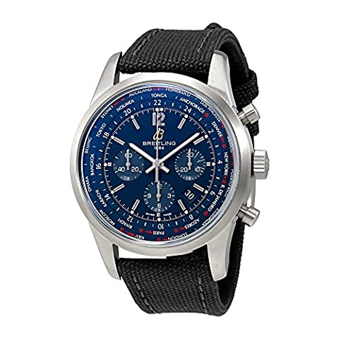 Breitling Transocean Unitime Chronograph Automatic Mens Watch AB0510U9-C879GVCT (Breitling Transocean Unitime)