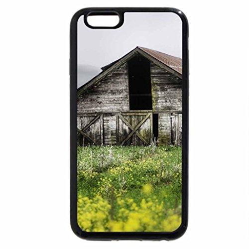 iPhone 6S / iPhone 6 Case (Black) Abandoned Farm
