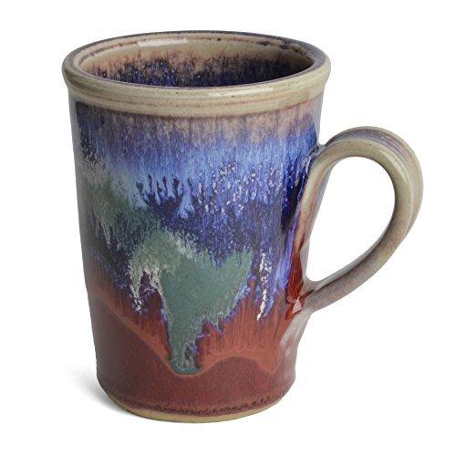 Larrabee Ceramics Coffee Mug, Mauve/Red ()