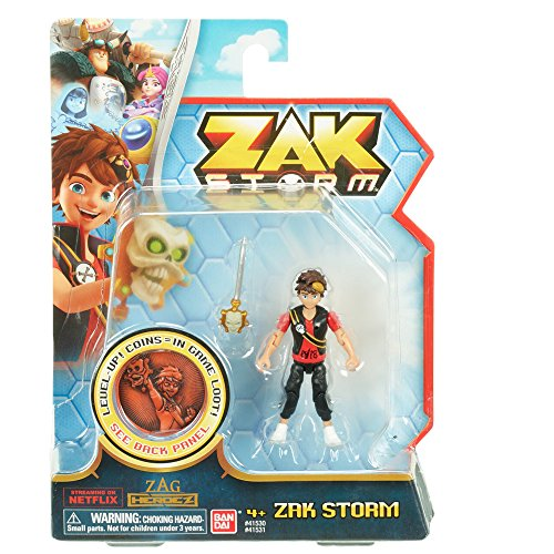 Zak Storm - Figurine articulée Zak - 41531