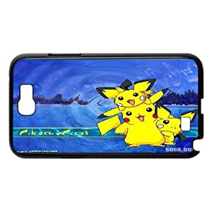 Pokemon Charmander Bulbasaur Mew Cute Eevee Pikachu protective case cover For Samsung Galaxy Note 2 CaseLHSB9713930