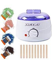 Waxen Kit Wax Warmer, Wax Heater Machine, Harde Wax Kit voor Vrouwen Mannen met Wax Kralen, Braziliaanse Wax Ontharing voor Lichaam, Bikini, Benen, Gezicht, Wenkbrauwen, Gebruik thuis