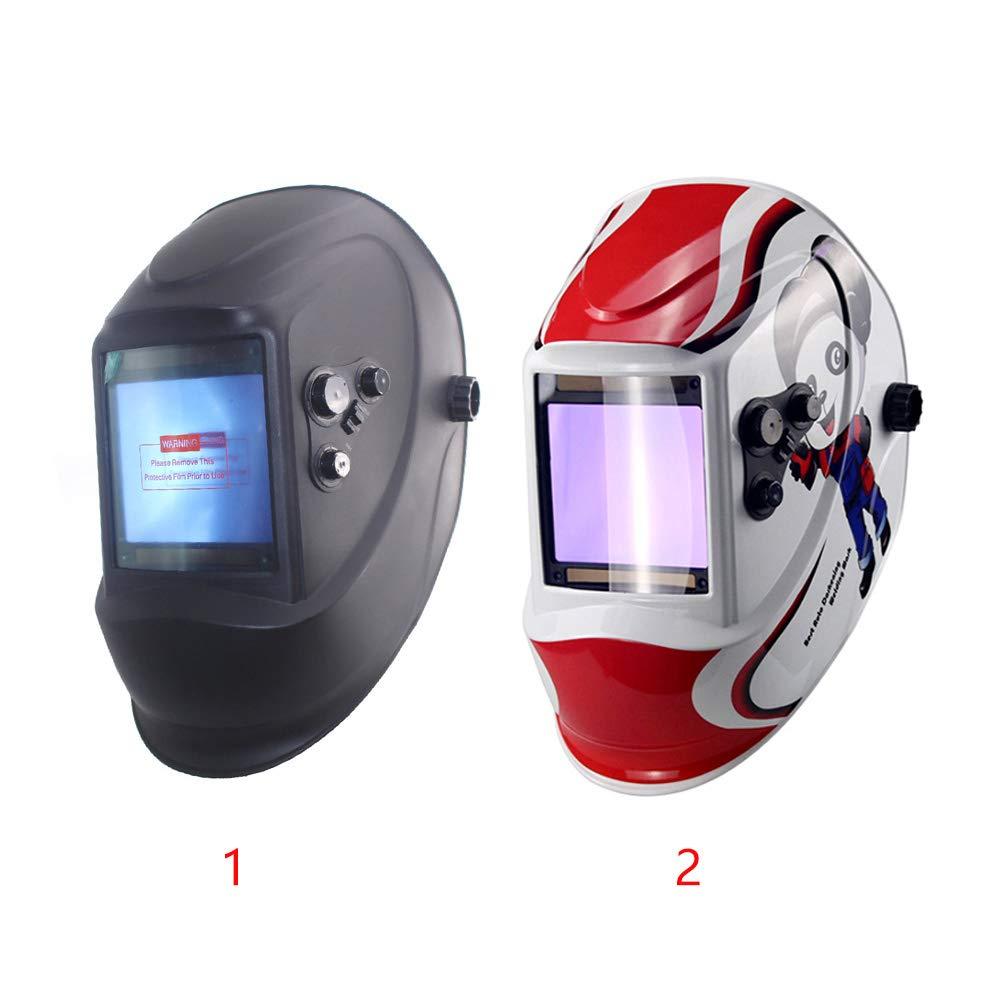Panda /écran LCD capteur darc Masque de soudure solaire auto-obscurcissant pour le visage sonde de soudage