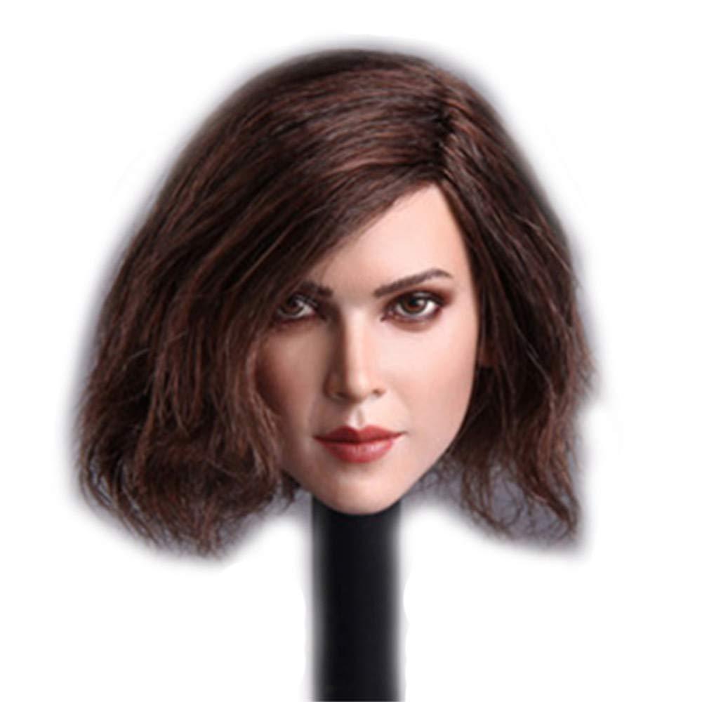 Short Hair HiPlay 1//6 Scale Female Figure Head Sculpt Beuty Charming Girl Doll Head for 12 Action Figure Phicen TBLeague HP048