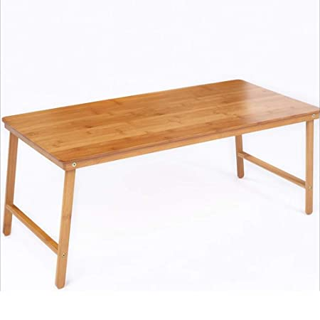 Zaixi Mesa de Centro Plegable de bambú Mesa pequeña Mesa de ...