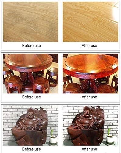 wendaby Holzwachs Möbelwachs Holzbutter Holzgewürz Bienenwachs Schutz Schmutzentfernung Bienenwachs für Holzmöbelboden