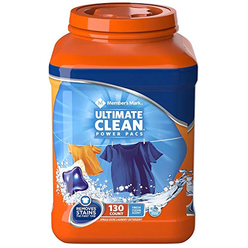 An Item of Member's Mark Ultimate Clean Laundry Detergent Power Pacs (130ct.) - Pack of 1
