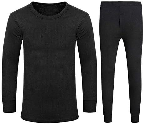 26030bf3bd606 MENS THERMAL LONG SLEEVE VEST UNDERWEAR EXTRA WARM WINTER HEAT TRAP S M L  XL XXL: Amazon.co.uk: Clothing