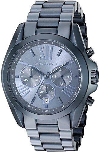Michael Kors Women's Quartz Bradshaw Blue Watch MK6248
