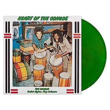 Heart Of The Congos Green With Yellow Haze Vinyl